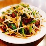 中華レストラン さんぷく - レバニラ炒め