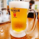 中華レストラン さんぷく - 生ビール