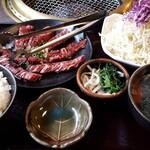 焼肉 エスカーラ - ランチ ハラミセット 1350円