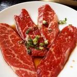 焼肉 エスカーラ - 追加でハーフカルビ 600円