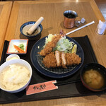 かつ久亭 - 料理写真:お楽しみランチ(税込み1188円)