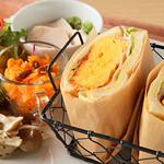 サーティーナインカフェ - 料理写真:ふわふわ卵サンド ランチ