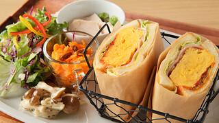 サーティーナインカフェ - ふわふわ卵サンド ランチ