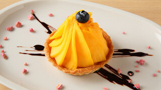 サーティーナインカフェ - 季節のタルト(旬のフルーツにより内容が異なります)