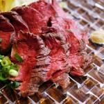 ◆6月限定!・~15日熟成の感動の美味しさ~ 極旨・和牛ヒレたたき◆