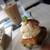 BOWLS cafe - チョコバナナのスクエアケーキ