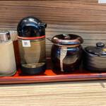 麺屋 宮本 - テーブルを彩るファンタジスタ達