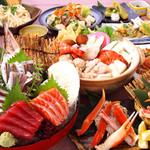 朝獲れ鮮魚 魚鮮水産 - 一心太助コース お一人様3500円