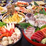 朝獲れ鮮魚 魚鮮水産 - 豪海コース お一人様4000円