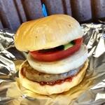 あんみ - ハンバーガー。シンプルながら、旨いやつ。
