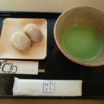 五十鈴茶屋 - 6月の朔日餅(麦手餅)