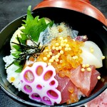 Narikoma-Ya - こだわり鮮魚で海鮮丼