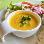 ラ ミシェル - 冷製キャロットスープ