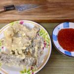 みやさん - 天ぷら(牛の胃5種盛り)