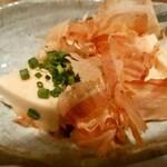 湯快爽快 湯けむり横丁 - 料理写真:チーズ豆腐 460円