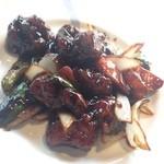 京華茶楼 - 黒酢豚
