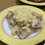 鼎泰豊 - 蒸し鶏ねぎソース 681円