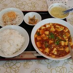 152377700 - 麻婆豆腐定食