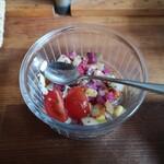 ムロマチカフェハチ - チョップドサラダ