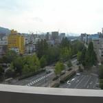 呉市役所食堂 - 市役所食堂 窓景