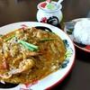 トンホム - 料理写真:クン・パッ・ポンカリー。海老のたまごカレー炒め