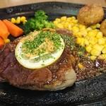 レストラン山水 - 黒毛和牛(A5ランク)フィレ肉のステーキ(150g)
