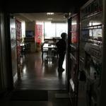 呉市役所食堂 - 長い廊下を抜けるとそこは食堂だった