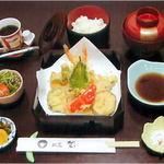割烹 聖 - 天ぷら定食
