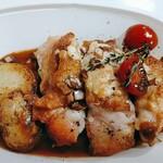 ヒナタ カフェ - 鶏もも肉