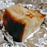 ヒナタ カフェ - 自家製パン横