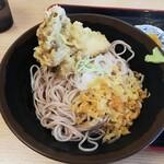 おか田 - 冷たい蕎麦と舞茸天