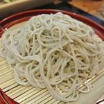 手打そば処 弐八矢 - 天ざるの蕎麦