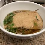 阪神そば - 料理写真:きつねそば