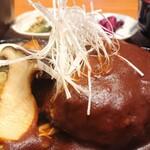 なか田 - 料理写真:ジャンボハンバーグ定食