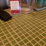 梨花食堂 - カウンタータイル