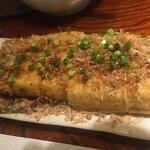 囲炉裏焼と蕎麦の店 うえ田 - 栃尾の油揚げ