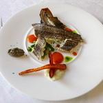 サン・マキアージュ - 太刀魚のあぶり焼き 3種のソース 南仏の香り 3種のソース