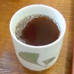 ばんちゃ屋 - 「ばんちゃ屋」冷たい番茶