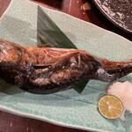 蔵の庄 - 金華鯖の囲炉裏焼き