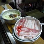 朝日 - 豚焼