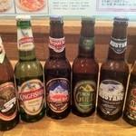 インド・ネパールレストラン&バー SAGUN - 各国のビール取り揃えております!