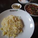 15243618 - 麻婆豆腐あんかけ炒飯