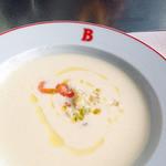 ル・コントワール・ド・ブノワ - ダイナースフランスレストランウィーク ランチのスープ