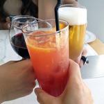 ル・コントワール・ド・ブノワ - 乾杯のドリンク