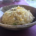 東巴 - 料理写真:担々麺セット 東巴炒飯