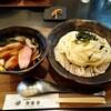 自家製麺 新渡月 - 料理写真:京鴨と九条ねぎのつけうどん(冷)