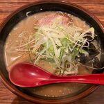 麺屋 しん - 生姜かおるRSコラボ味噌のアップ