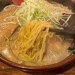 麺屋 しん - 生姜かおるRSコラボ味噌の麺