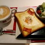 カフェ Mランド - ハッピーモーニングセット 380円
