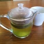 ココス - 抹茶玄米茶をいただきました